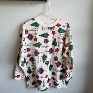Vintage Ugly Christmas Sweater Sz M